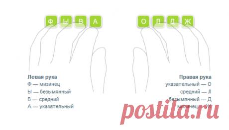 Вот самый простой способ научиться печатать вслепую! — Полезные советы