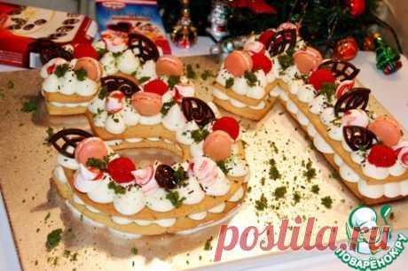 "Торт-цифра ""31 декабря"" – кулинарный рецепт"