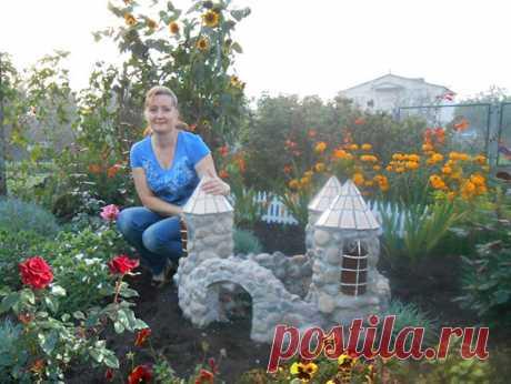 Замок из камня своими руками   Фигурки для сада