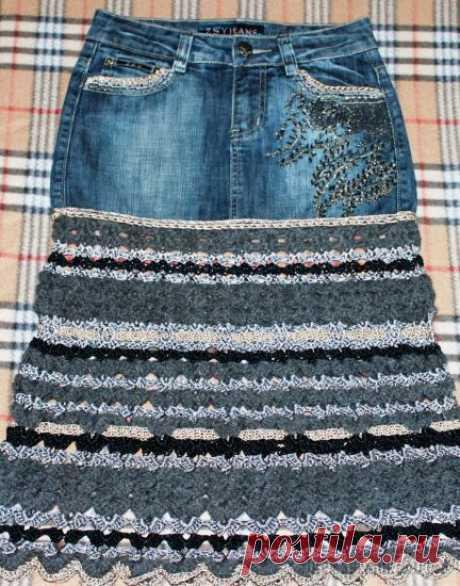 Как из старой юбки сделать новую: фото для вдохновения