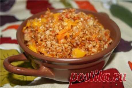 Рецепт - *Гречка с овощами. с фото приготовления