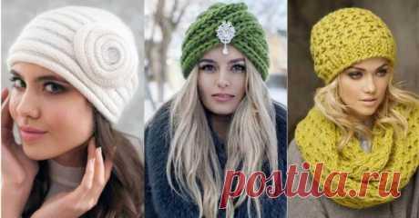 Женские вязаные шапки этого сезона… Советы стилистов по выбору актуальных моделей!