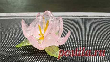 Цветок из изомальта без молдов для украшения тортов | LoveCookingRu | Яндекс Дзен