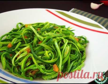 Спагетти из кабачков – кулинарный рецепт