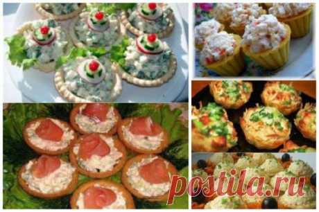 Идеи вкусных, легких и оригинальных закусок