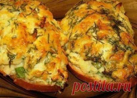 Сытные бутерброды с картофелем. Многие из нас сталкивались с проблемой остатков картофельного пюре, есть решение!