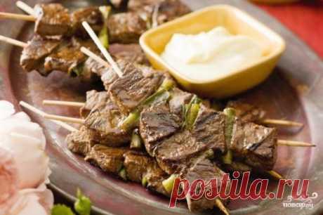 Шашлык из говядины на шпажках - пошаговый рецепт с фото на Повар.ру