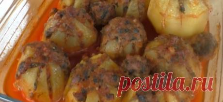 Картофель с мясной начинкой: готовим в духовке - Лучшие рецепты