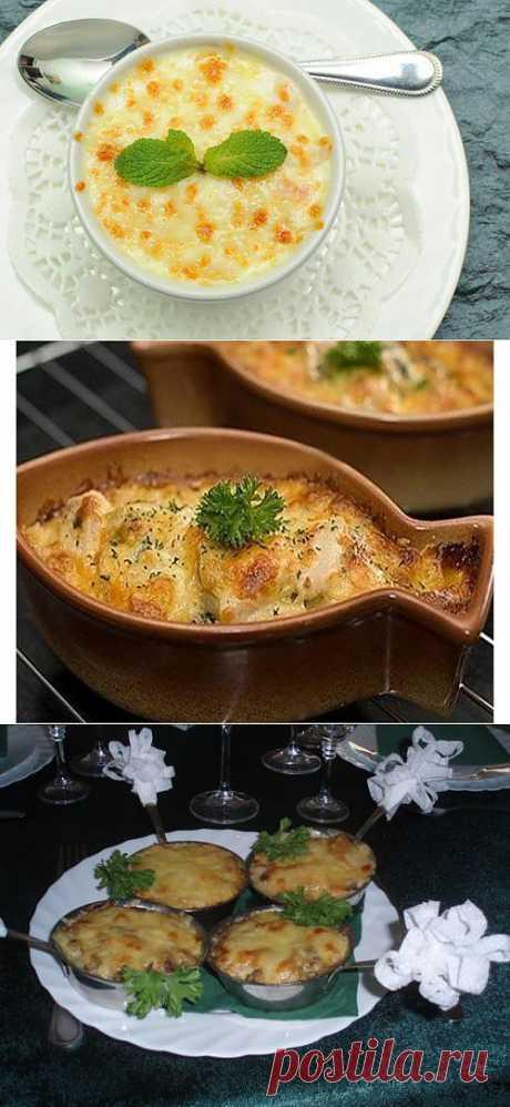 Жульены с рыбой: наслаждение вкусом! / Простые рецепты