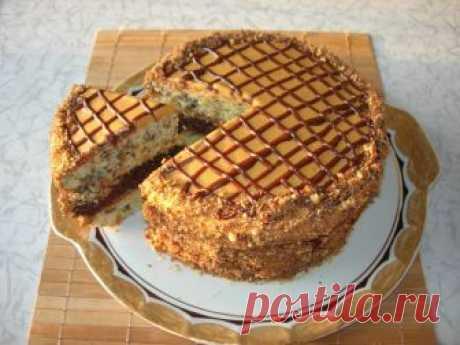 Домашний торт «Витязь», очень вкусный и совсем несложный в приготовлении!