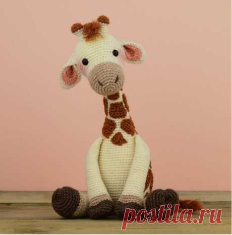 kidsti - Вязаный жирафик Handmade store