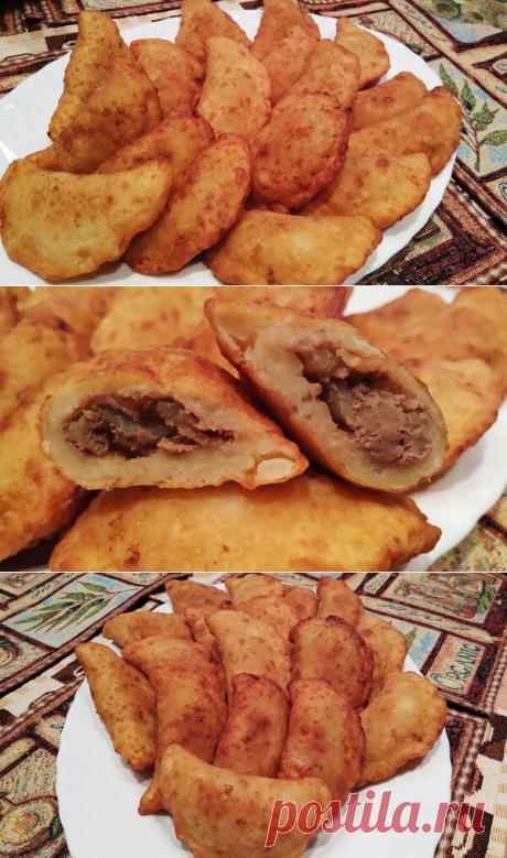 Вкуснейшие пирожки с печенью из картофельного теста
