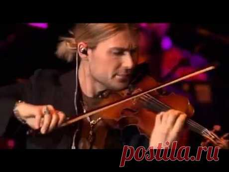 "Дэвид Гарретт ""Венгерский танец"" Брамса - David Garrett ""Hungarian Dance No 5"" by Brahms"