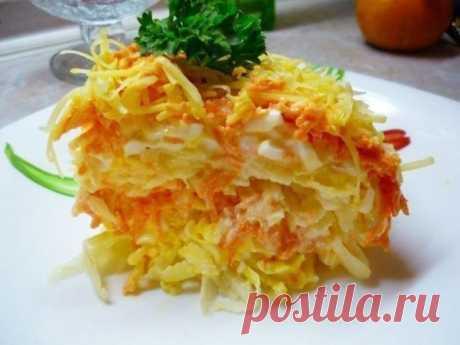 Очень вкусно: 5 рецептов низкокалорийных салатиков с морковью, можно есть в любое время    Рецепты, которые покорят ваше сердце!          1. Морковный салат с яйцом  На 100 гр — 88.26 ккал   Ингредиенты:Морковь — 4-5 штук (среднего размера)Яйца вареные — 5-6 штукЧеснок — 2-3 зубчиковСм…
