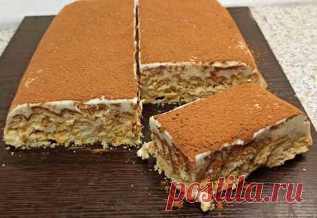 Приготовление такого вкусного и нежного торта займет у Вас минимум времени. Для его приготовления понадобится достаточно простой и доступный набор продуктов. Попробовав такую выпечку, Вы испытаете истинное наслаждение вкусом. 400 грамм соленого печенья крекер (я брала «рыбки») 500-600 грамм...