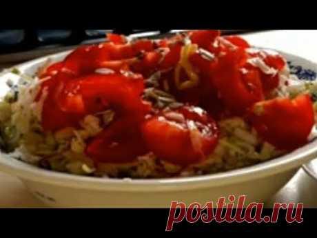 Рецепт салата/самый вкусный,быстрый и простой.