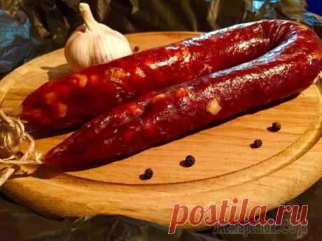 Похвастушки: колбаса чоризо - домашняя