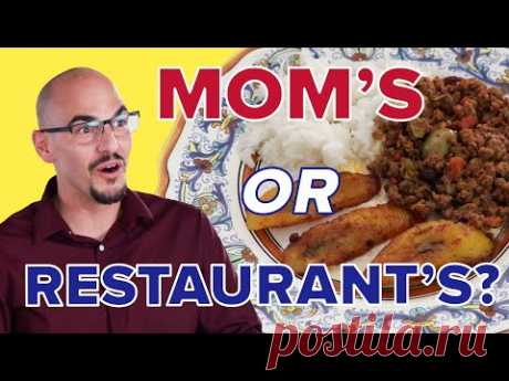 Can This Son Guess His Mom's Cooking? • Tasty