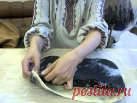 Валяная косметичка с фермуаром, видео-урок - Ярмарка Мастеров - ручная работа, handmade