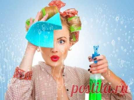 Уборка как ритуал - приговорочки