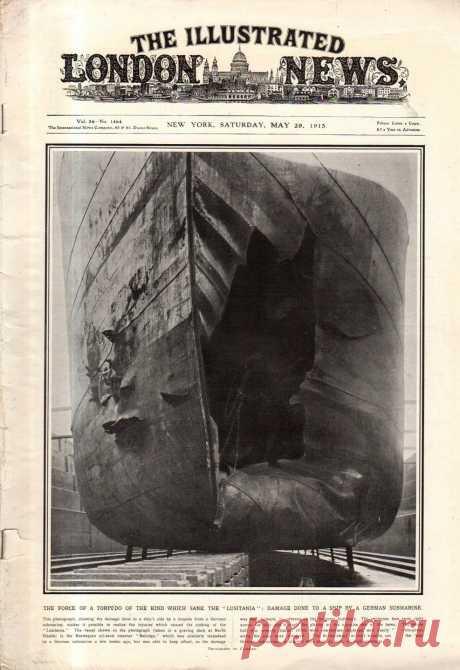 1915.05.29 - The Illustrated London News (New York) | Sovetika.ru - обложки старых журналов