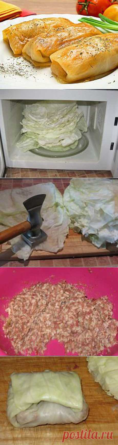 Как приготовить голубцы из капусты?