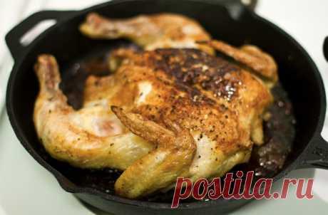 Запекаем вкусную курицу целиком! 5 секретов