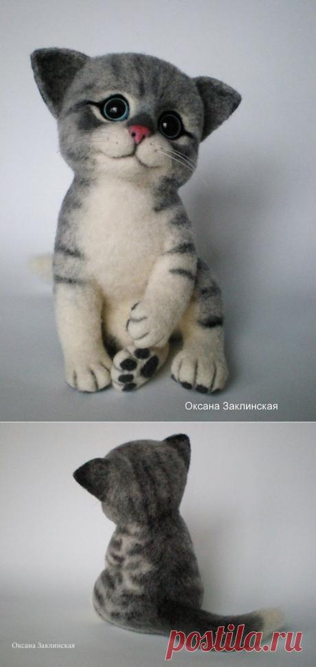 Озорной котенок Масяня