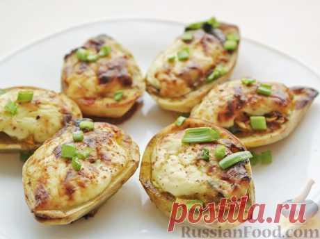 La receta: las Patatas rellenadas en italiano en RussianFood.com