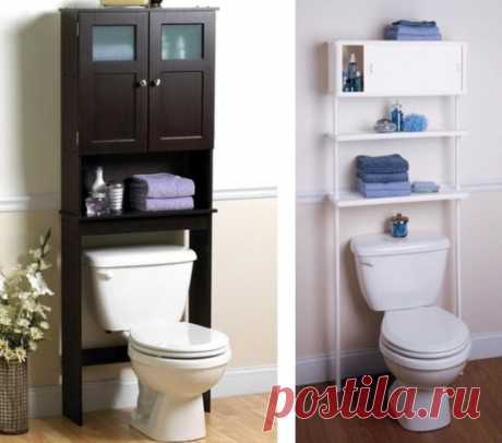 Раздельный санузел: дизайн маленькой туалетной комнаты