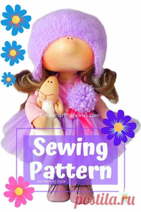 Handmade Doll Sewing Pattern PDF Interior Doll Tutorial   Etsy