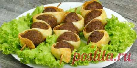 Оригинальная мясная закуска — Нямки — самые вкусные и необычные рецепты
