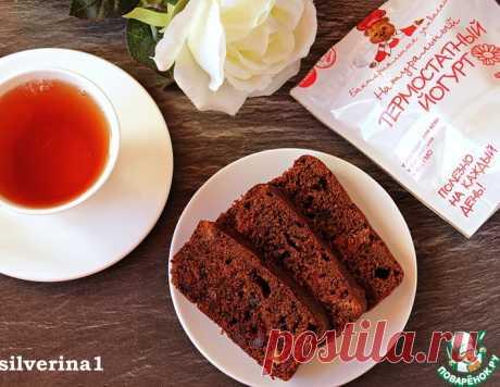 Шоколадный кекс с вишней – кулинарный рецепт