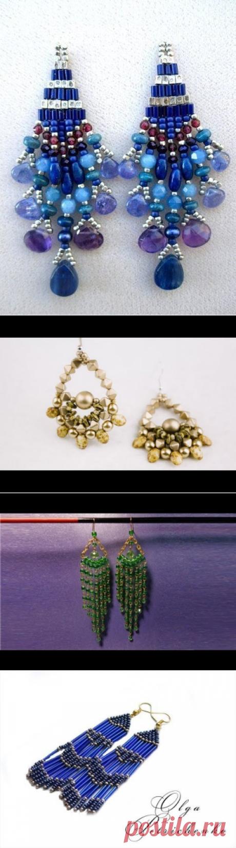 Search on Postila: earrings from beads