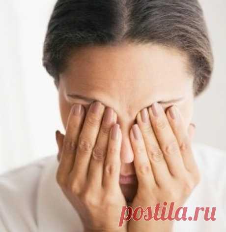 Как снять напряжение с глаз, простые способы — Мегаздоров