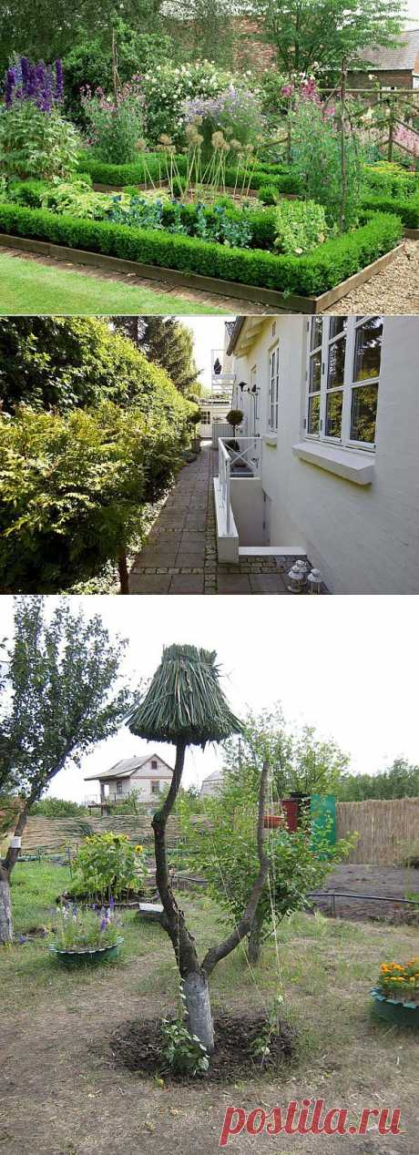 Дизайнерские идеи для дачи и сада.