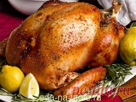 Как замариновать и запечь индейку на праздник | Еда на столе
