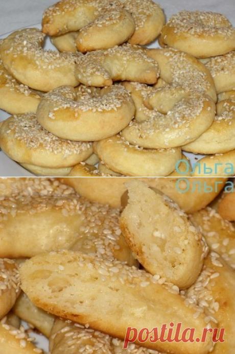 Творожное соленое печенье