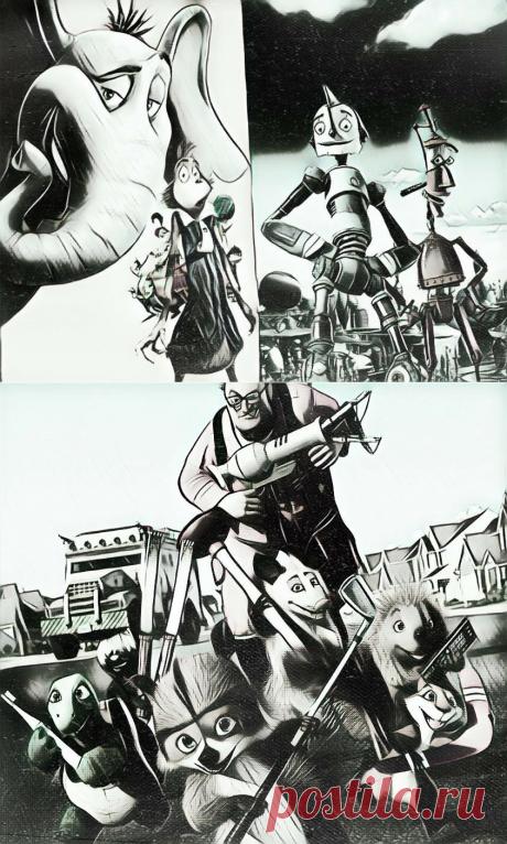 Топ-3 олдскульных мультика про приключения | КиноПлакат | Яндекс Дзен