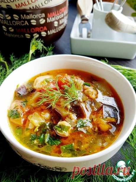 Гречневый суп с баклажанами: вы удивитесь, насколько он вкусный!
