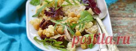 Салат с вареной курицей - вкусный рецепт с пошаговым фото