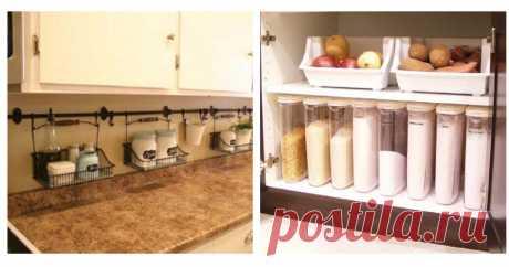 Моя кухня — моя гордость! 10 полезных советов для порядка на кухне Читать далее...