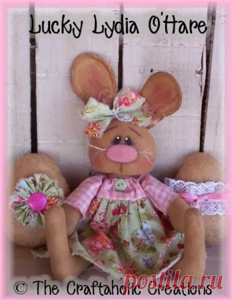 Примитивные куклы от The Craftaholic Creations