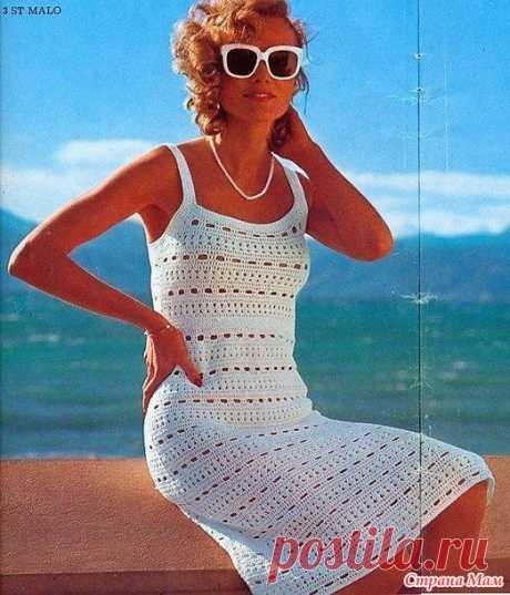 Винтажное платье Сан Мало - Все в ажуре... (вязание крючком) - Страна Мам