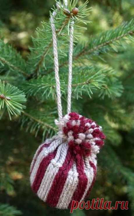 Дед Мороз и елочная игрушка из картона | Краше Всех