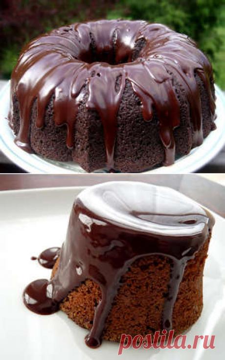 Шоколадная глазурь из какао и молока для торта (фото и видео рецепт)