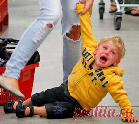 Что делать если ребенок закатил истерику в общественном месте. Как успокоить малыша leeleo.ru