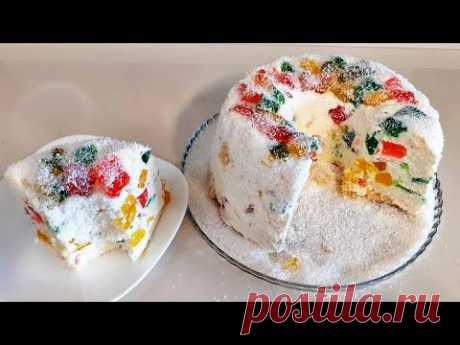 Торт без выпечки на Новый Год
