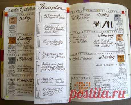 Dutch Door Ideas for your Bullet Journal — christina77star | Plan your Life. Achieve your Goals.