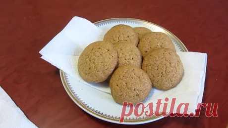 Овсяное печенье с кедровыми орехами